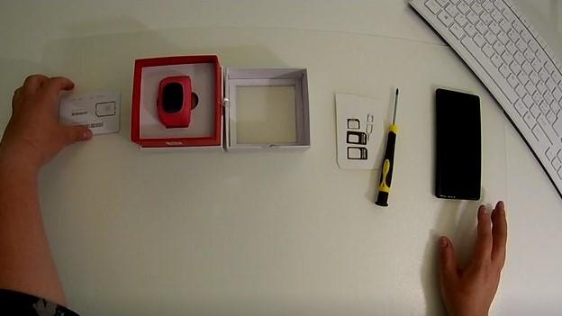 GPS Kinder Uhr installation bild 1